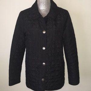 Black classic Coach Jacket